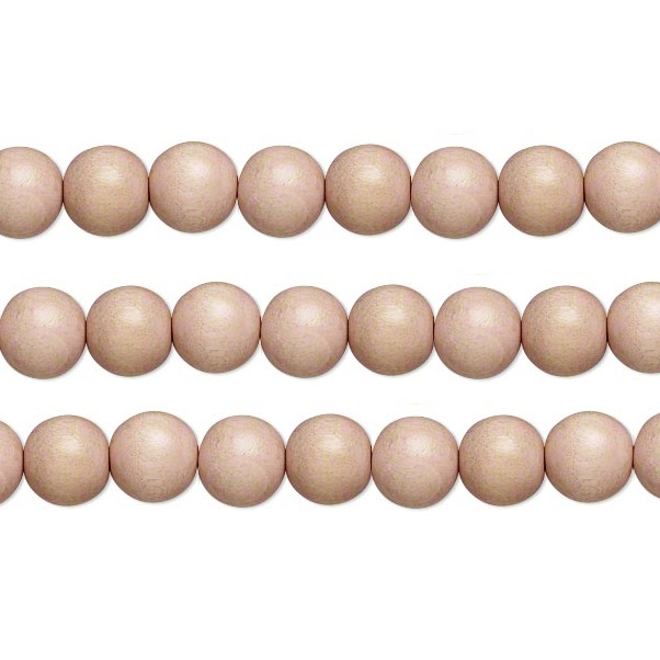Wood Round Beads Natural 6mm 16 Inch Strand
